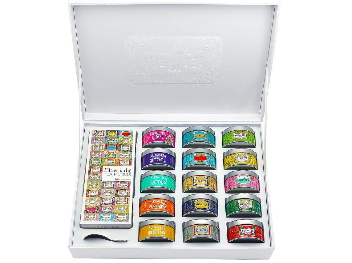 Kusmi Tea assortment