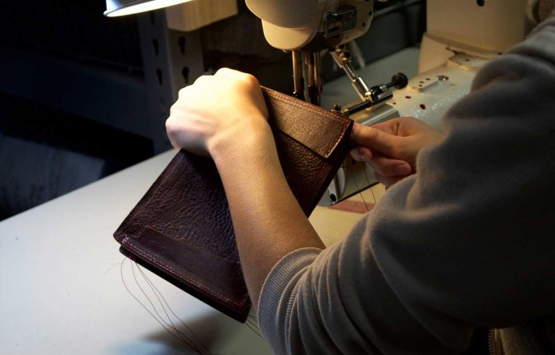 Stitching the Tripp Handbag