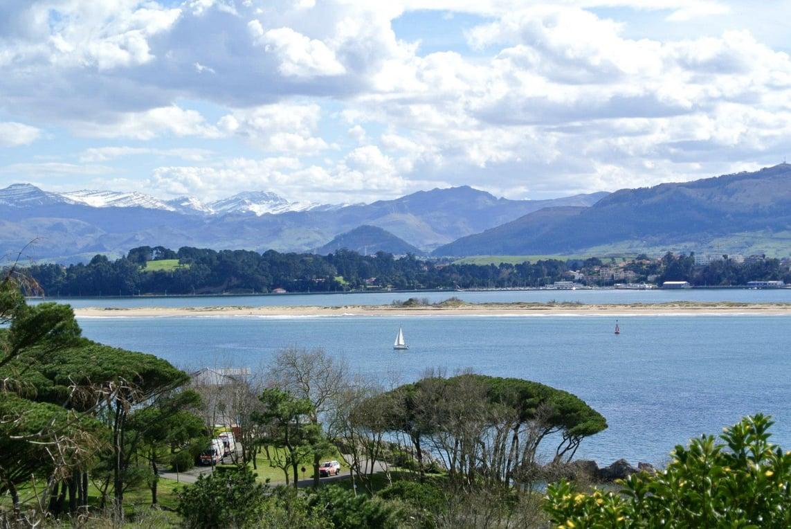 Mountain views in Santander, Spain