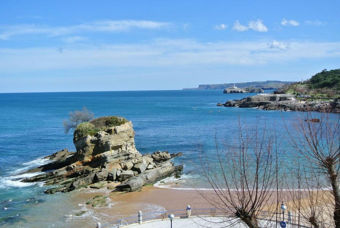 Water views in Santander, Spain