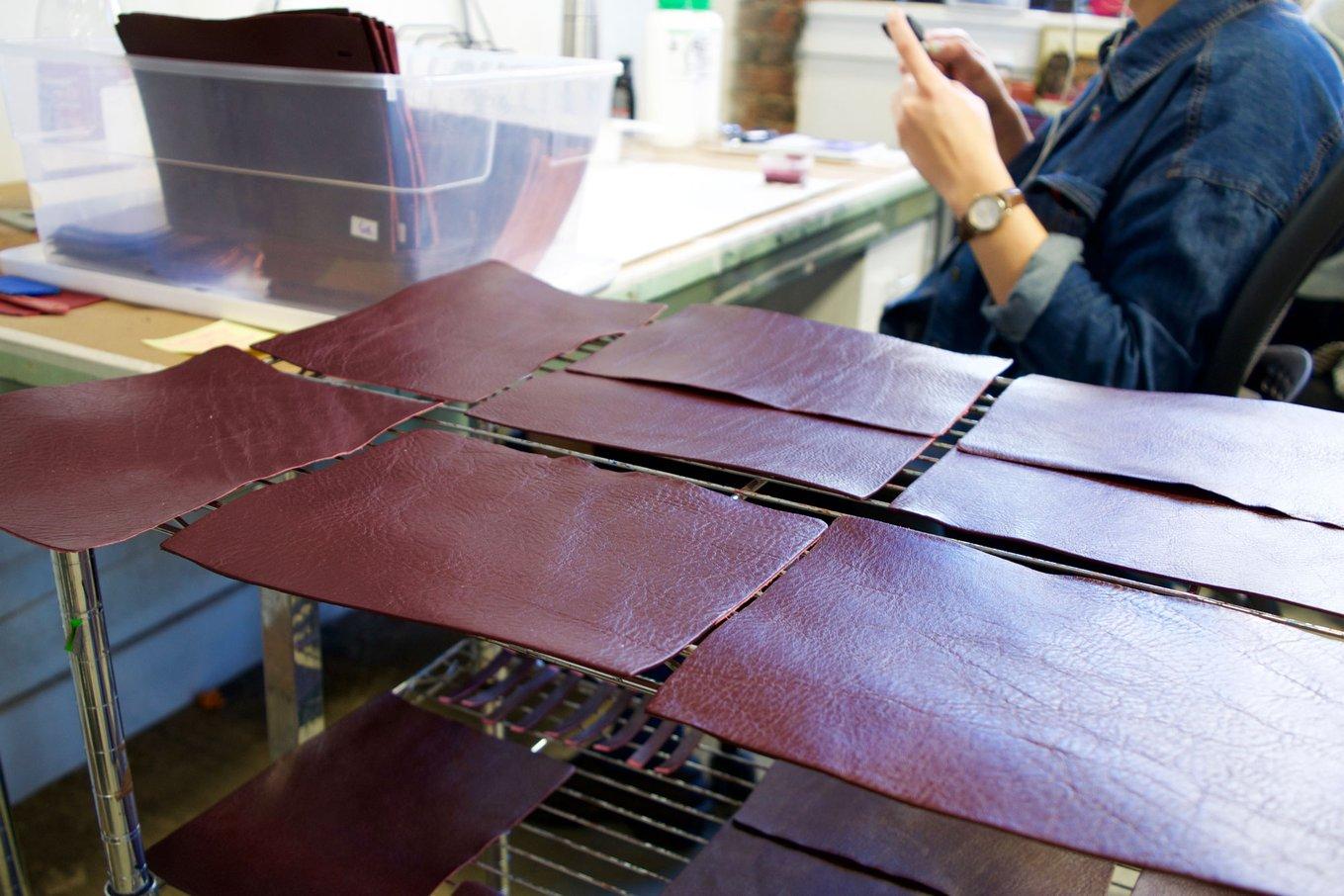 Painting and Polishing the Tripp Handbag