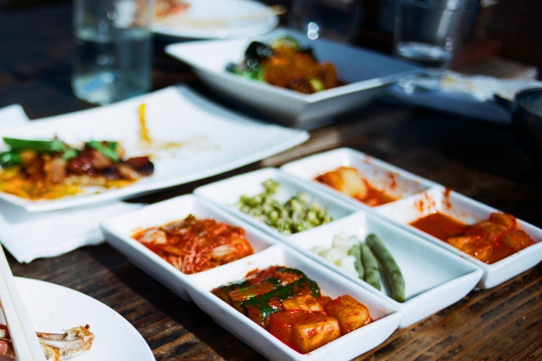 Dinner at Fuse Box Korean restaurant in San Francisco, California