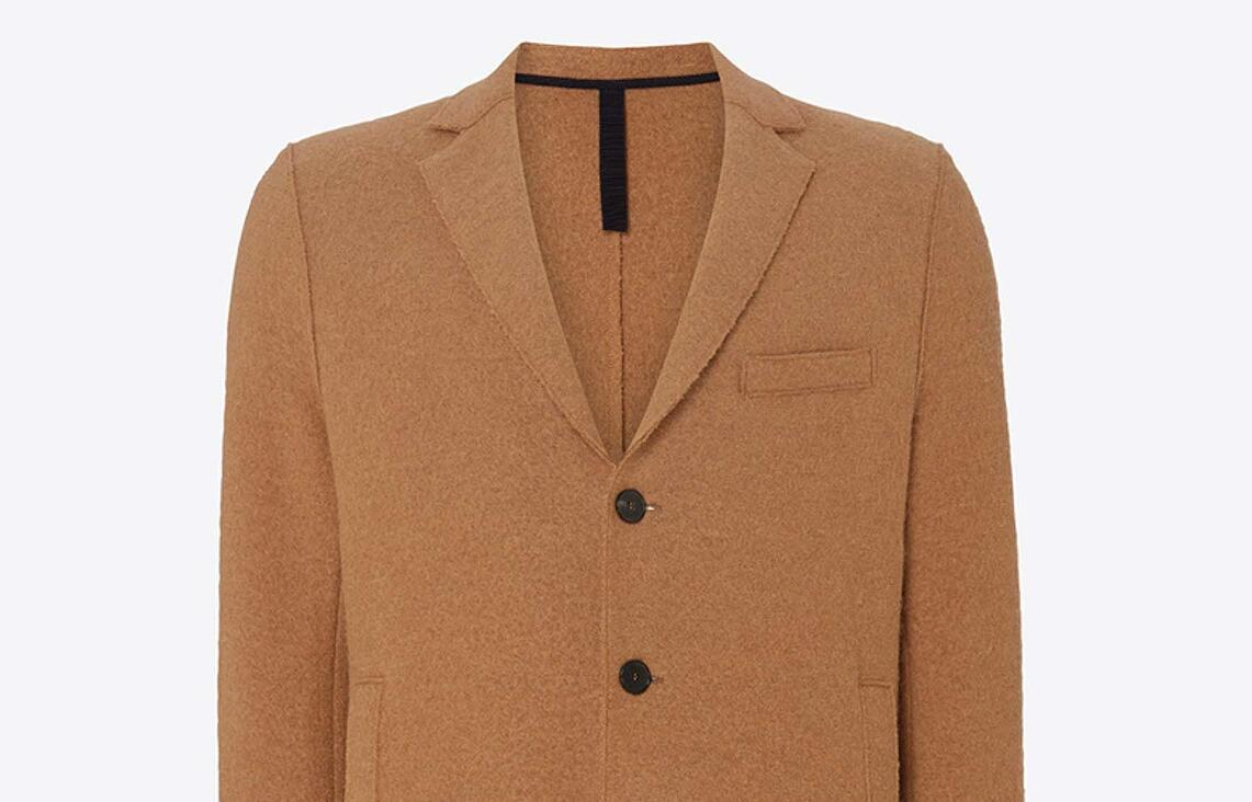 Harris Wharf Alpaca Coat