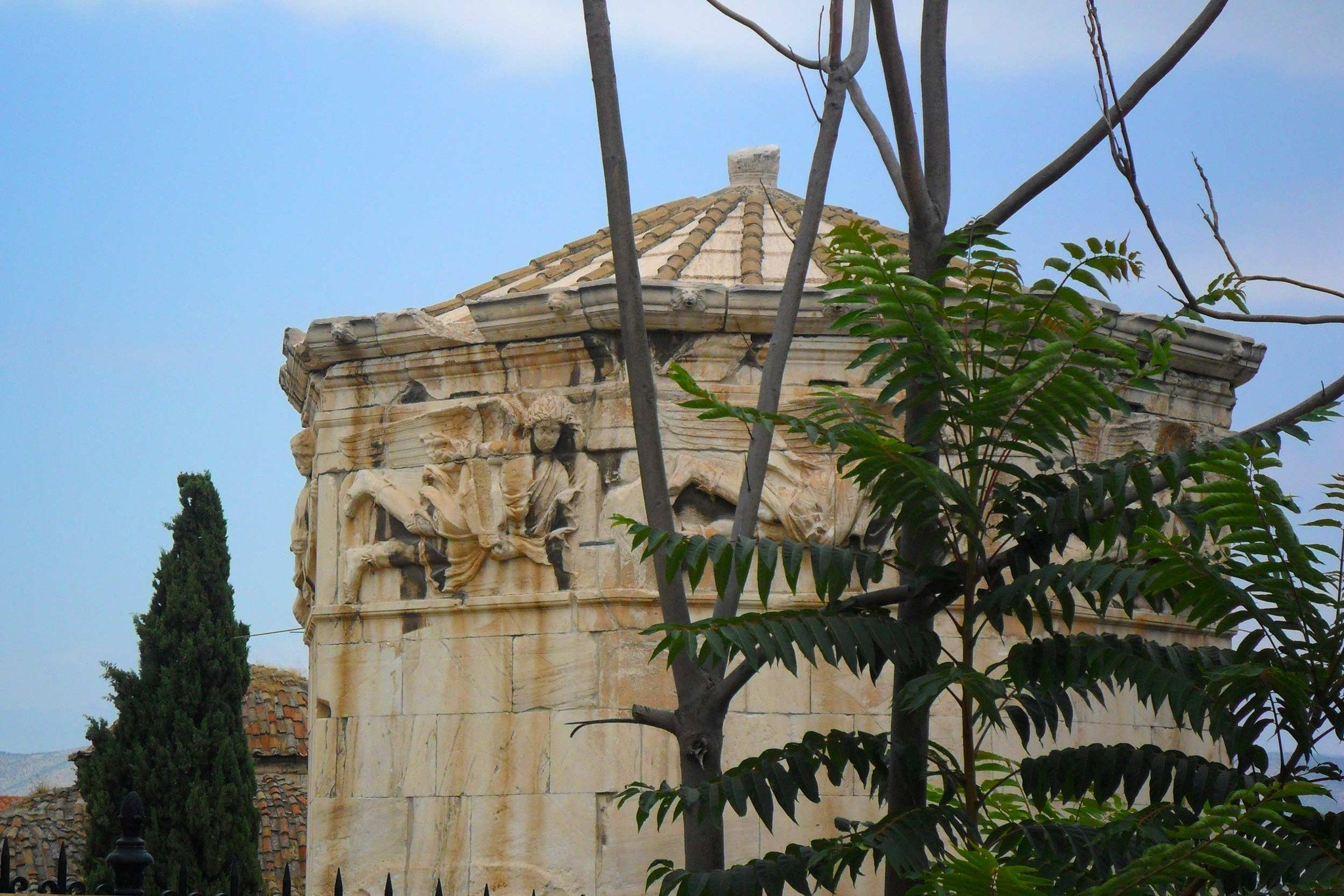 Ancient architecture in Athens, Greece