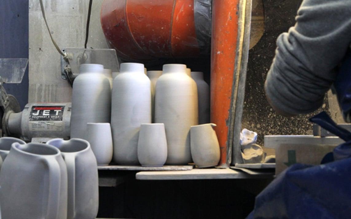 Heath Ceramics studio in California