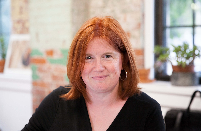 Ellen McNulty-Brown, CEO of Lotuff Leather
