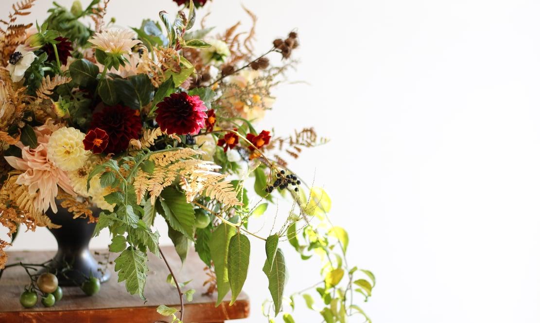 Flowers by Semia floral arrangement