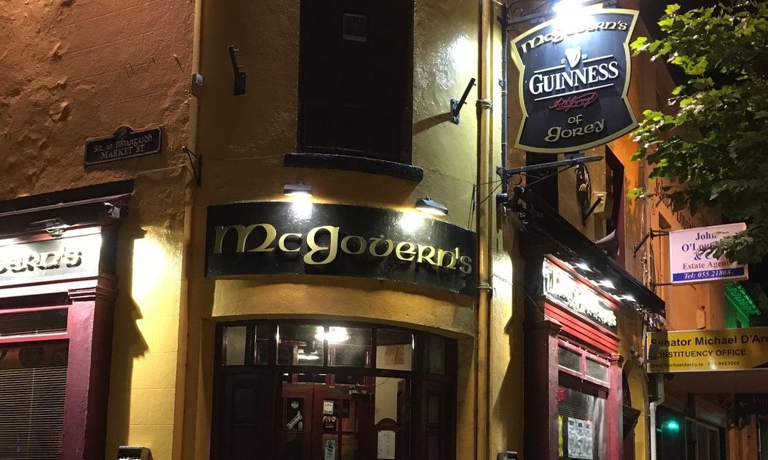 McGovern's pub in Gorey, Ireland