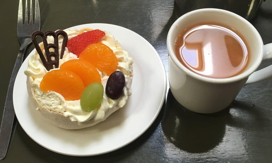 Breakfast at Joanne's café in Gorey, Ireland