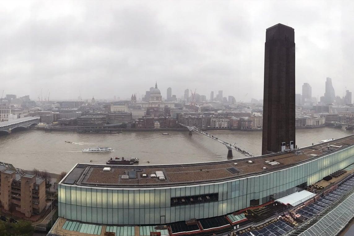 Panorama of London, England