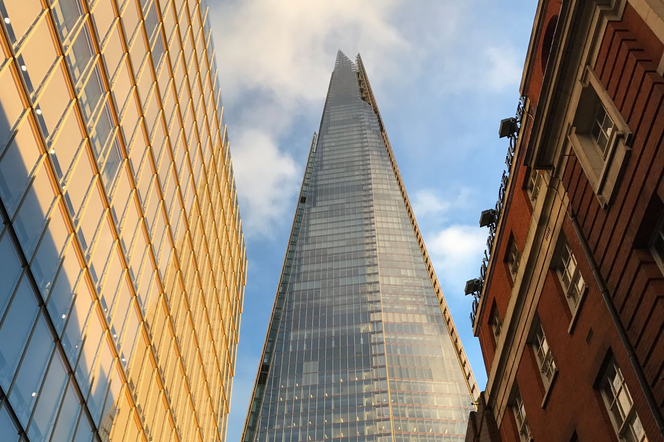 The Shard in London, England