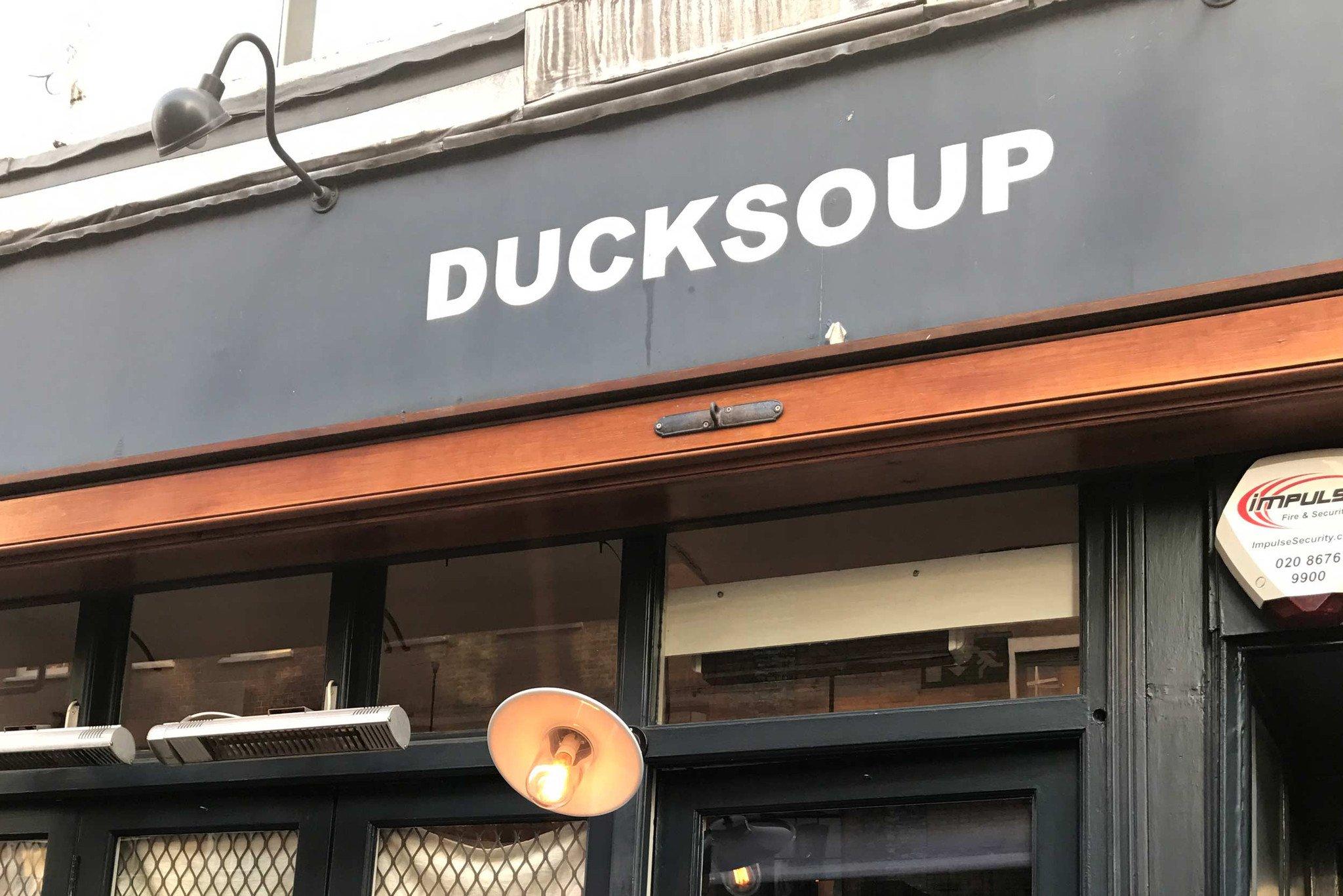 Ducksoup Restaurant in London, England