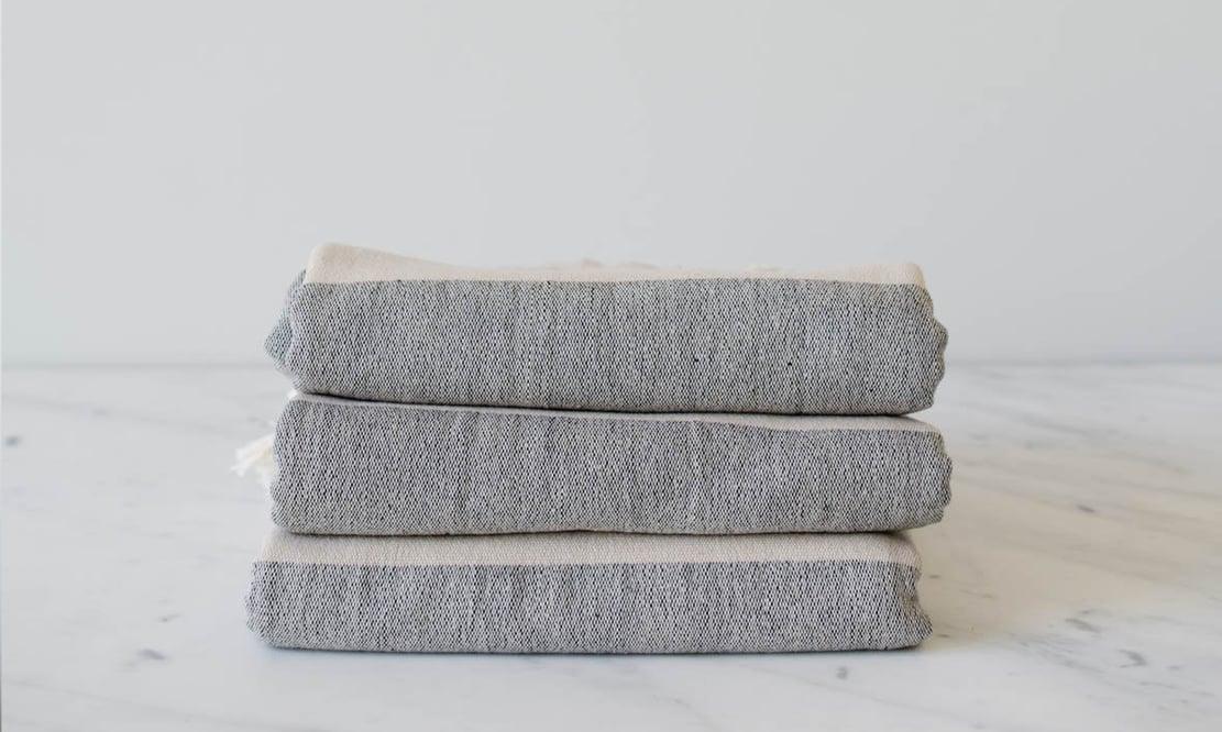 MÛR Turkish towels in Bride