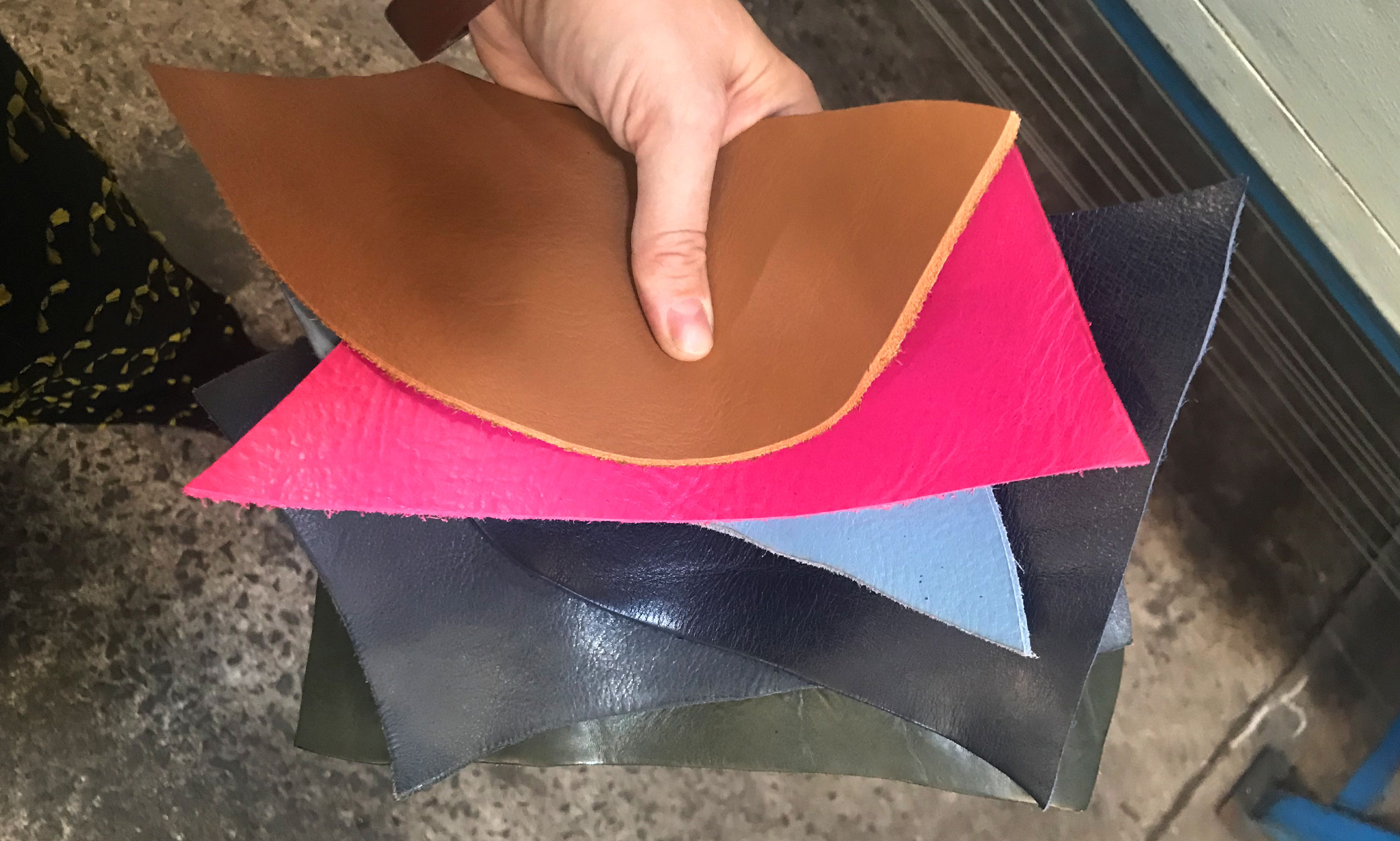 New Lotuff Leather colors for AW18