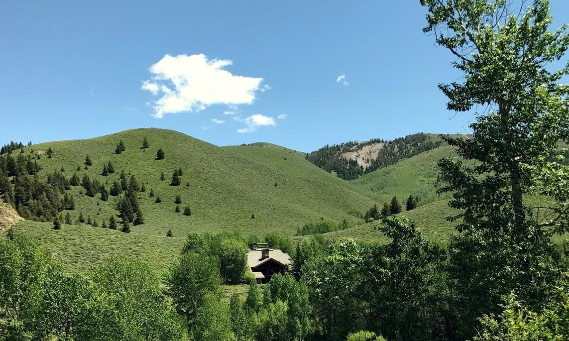 Hills of Sun Valley, Idaho